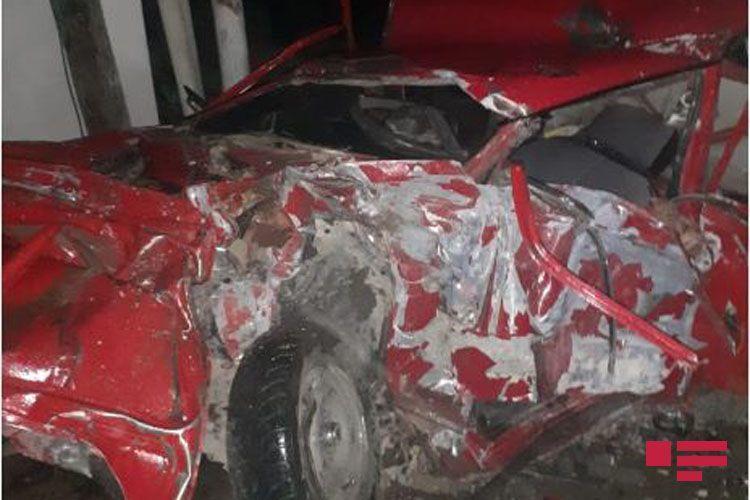 Страшное ДТП в Шамкире, есть погибшие