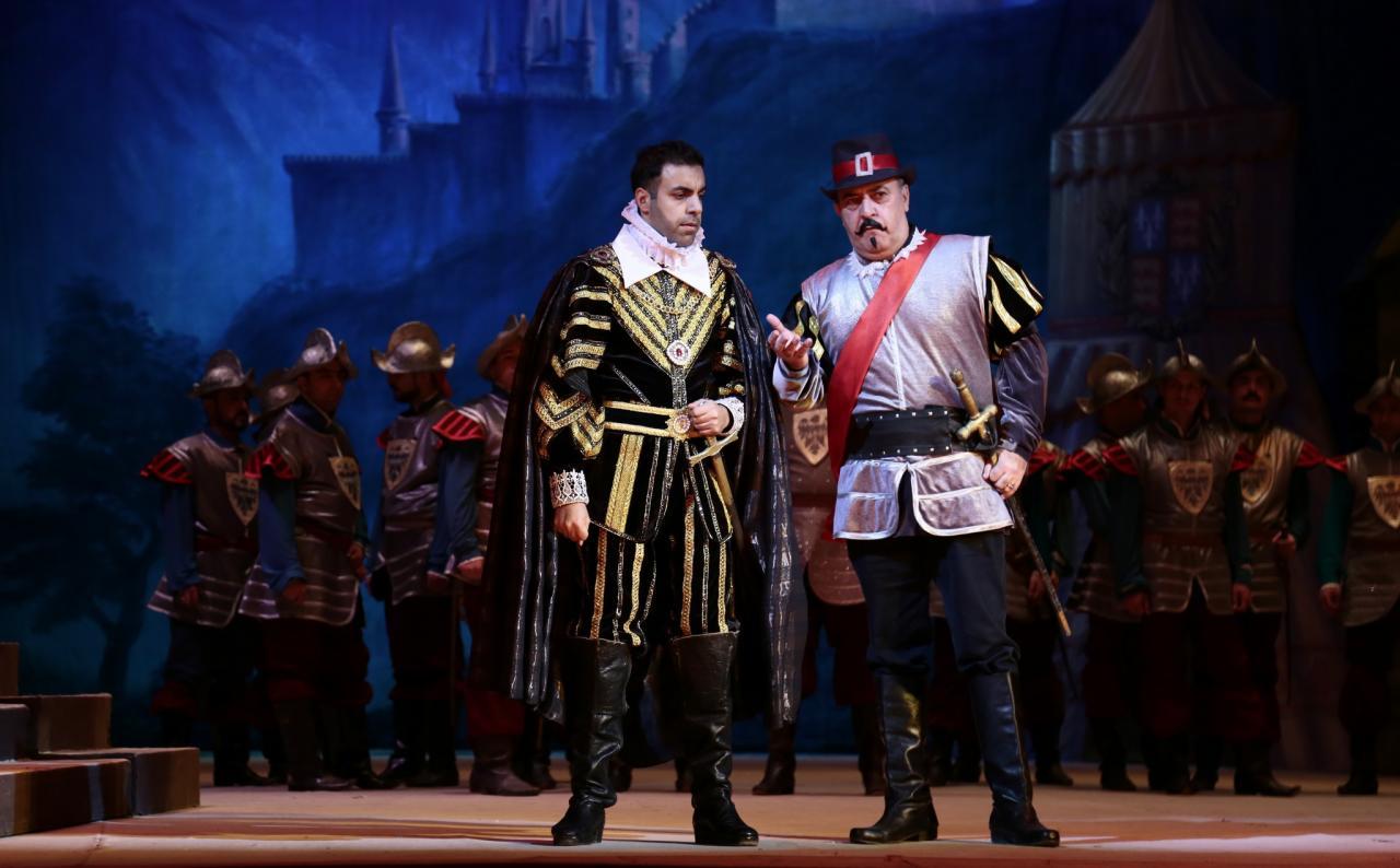 """Успешный показ оперы """"Трубадур"""" в Театре оперы и балета"""