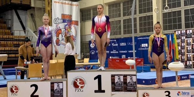 Азербайджанские гимнастки вернулись с медалями из Польши