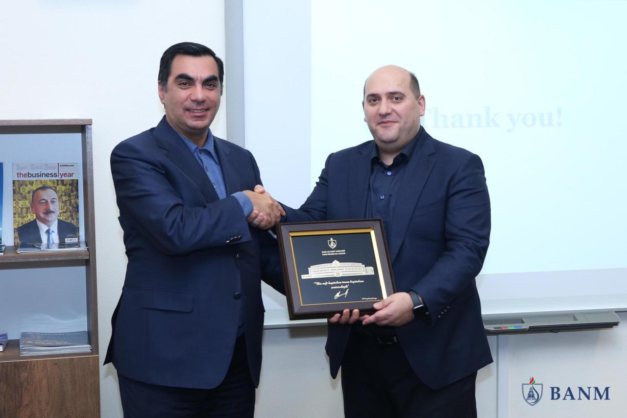 Эмин Гусейнов провел мастер-класс в БВШН