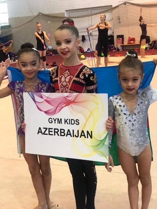 Азербайджанская гимнастка завоевала четвертую медаль за один месяц