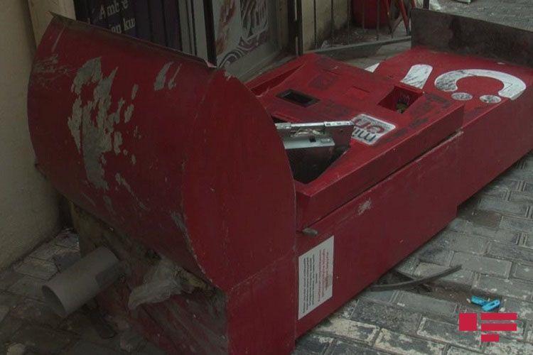 В Хырдалане вскрыли платежный терминал