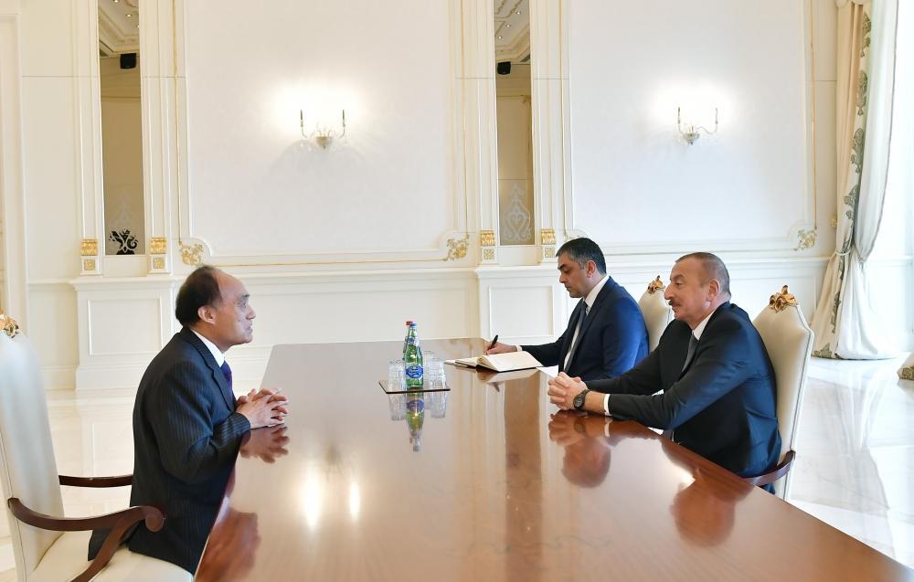 Президент Ильхам Алиев принял генерального секретаря Международного телекоммуникационного союза