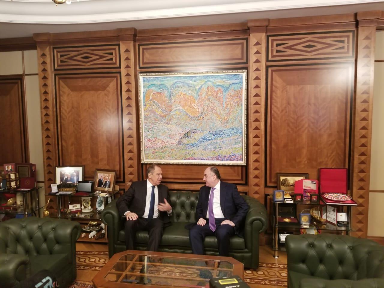 МИД Азербайджана раскрыл детали встречи Эльмара Мамедъяров и Сергея Лаврова