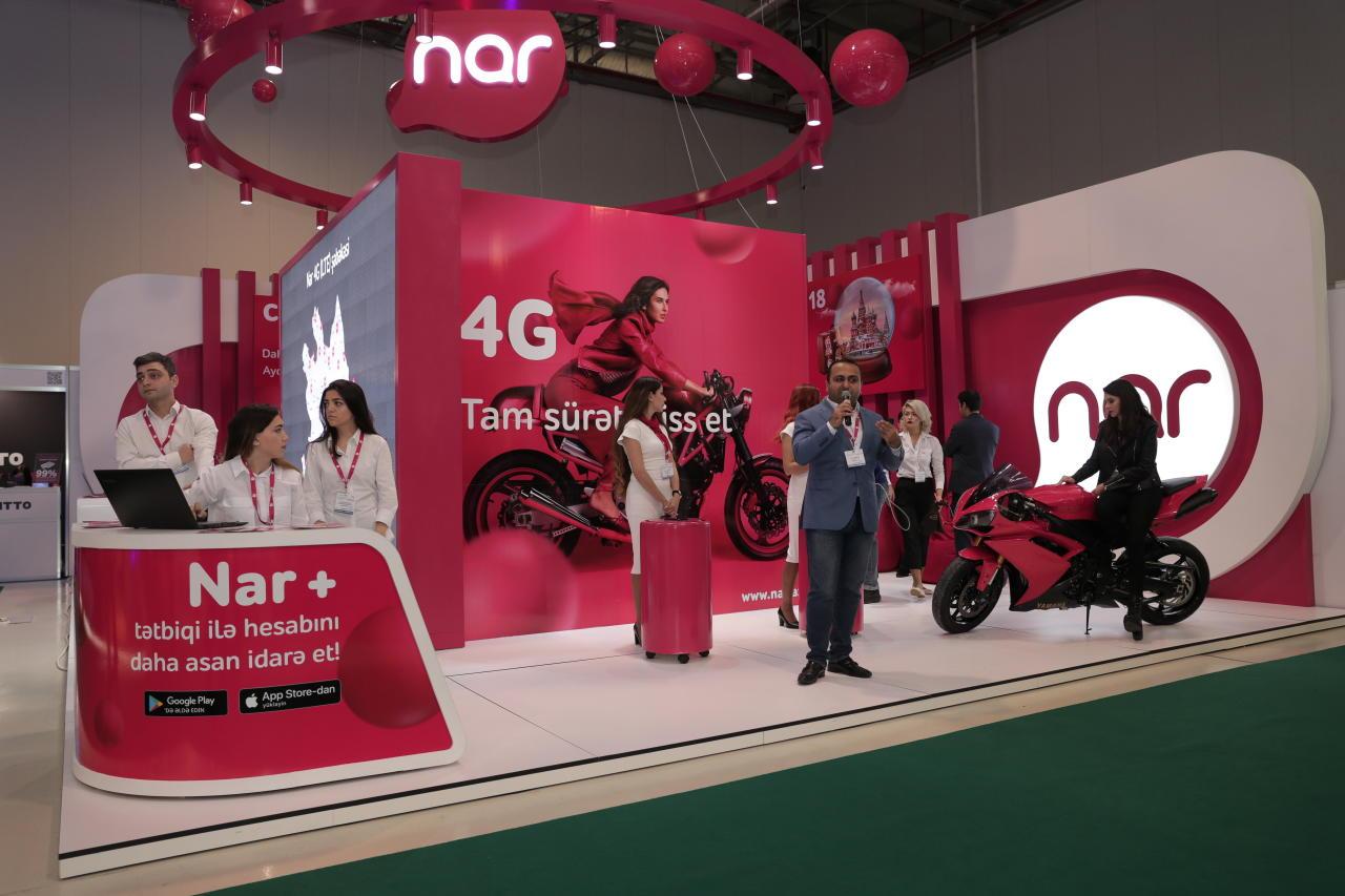 """Подходи к стенду Nar на выставке """"BakuTel"""" и выиграй смартфон"""