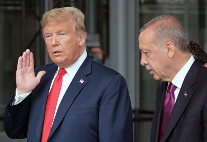 Эрдоган и Трамп провели двустороннюю встречу в Лондоне