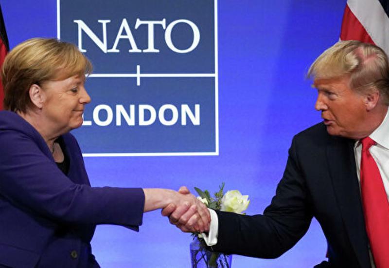 """Трамп и Меркель обсудили """"проблему"""" российского газа в Европе"""
