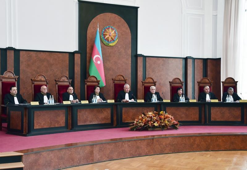 Конституционный суд Азербайджана рассматривает запрос о соответствии роспуска парламента  Конституции