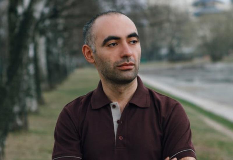 Зираддин Рзаев в родном городе Шамкире