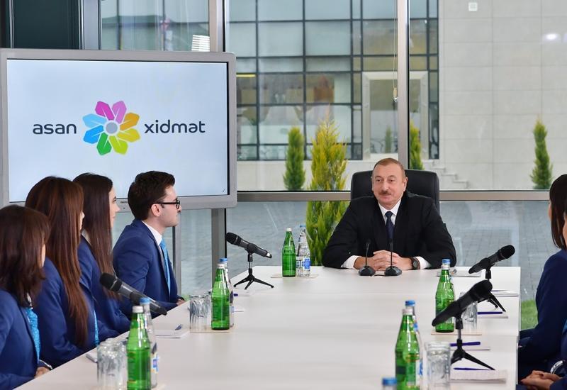 Президент Ильхам Алиев: Наша молодежь в будущем должна сохранить ценности, которые наш народ создавал веками