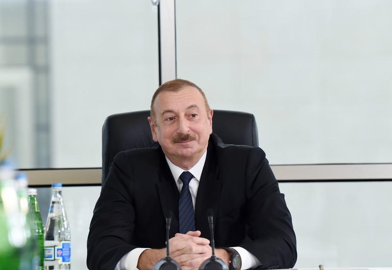 Президент Ильхам Алиев: Сохраняя исторический облик Шамахи, мы модернизируем ее