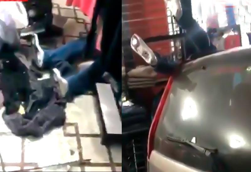 В Баку автомобиль въехал в магазин