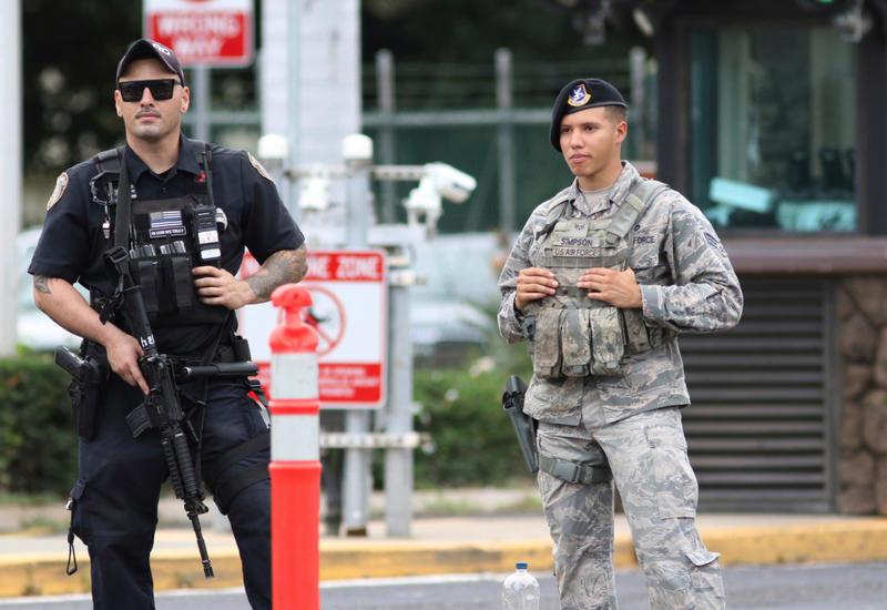 На американской базе Перл Харбор произошла стрельба