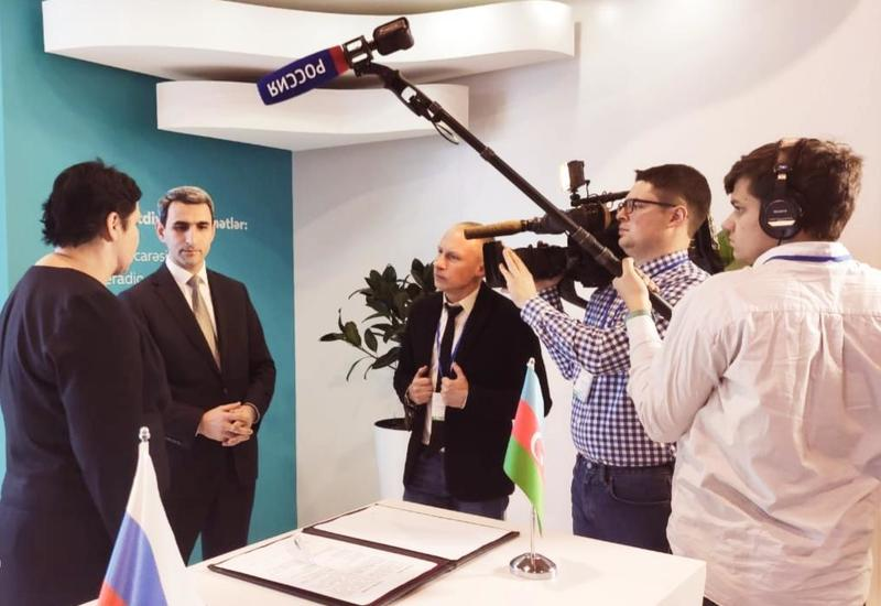 Азербайджан и Россия подписали важное соглашение в области спутниковых связей