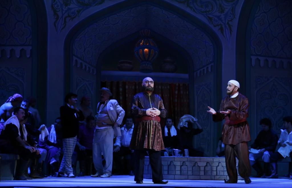 """Грандиозный показ музыкальной комедии """"Не та, так эта"""" в Театре оперы и балета"""