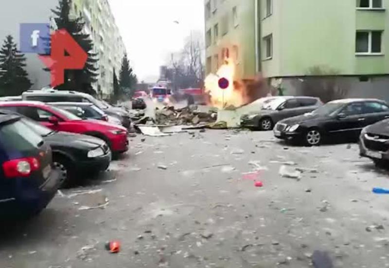 Взрыв прогремел в многоэтажке в Словакии