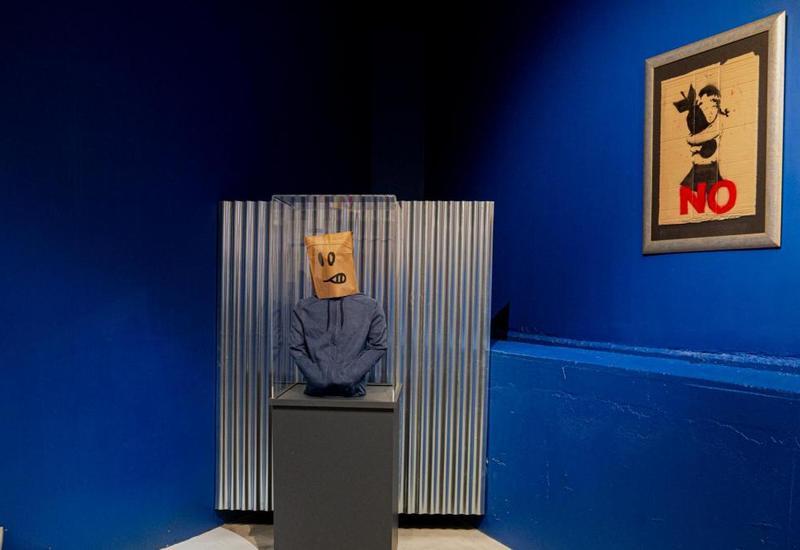В бельгийском музее появятся две оригинальные работы Бэнкси
