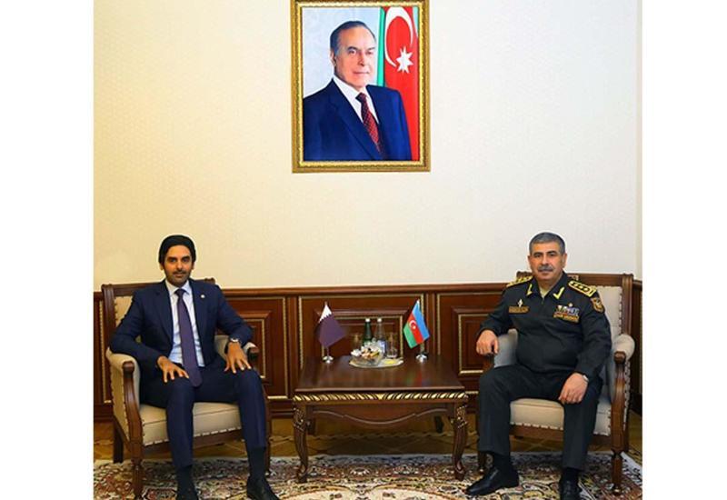 Азербайджан и Катар обсудили развитие военного сотрудничества