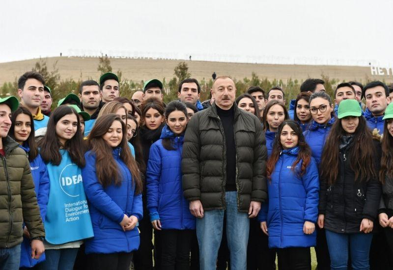650 000 деревьев как символ единения граждан Азербайджана