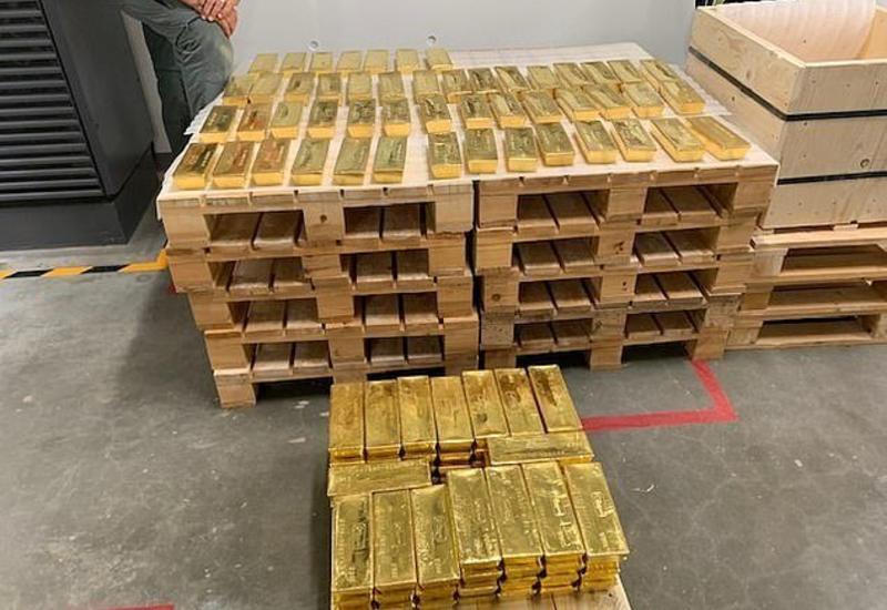 Из Лондона вывезли сто тонн польского золота