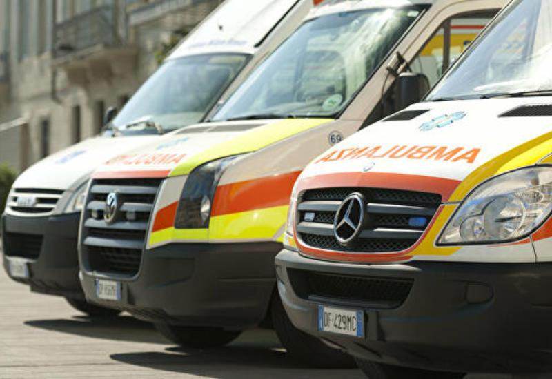 В Милане произошло тяжелое ДТП, много пострадавших