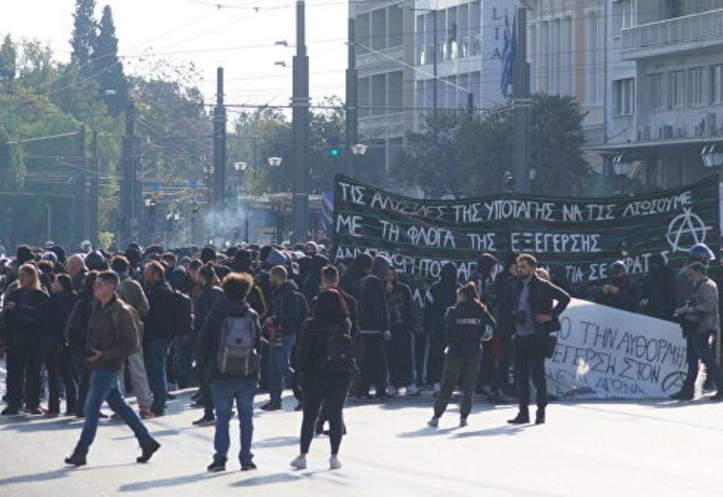 Беспорядки в Греции, задержаны десятки человек