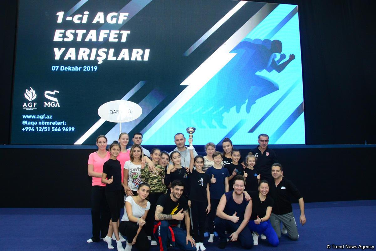 Захватывающе, ярко и интересно: Определились победители эстафетных соревнований Федерации гимнастики Азербайджана