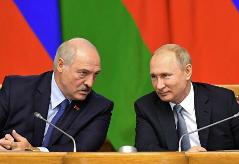 Путин поздравил Лукашенко с юбилеем договора о Союзном государстве