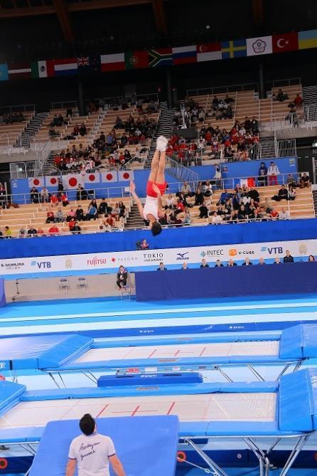 Азербайджанский гимнаст завоевал золотую медаль в Токио