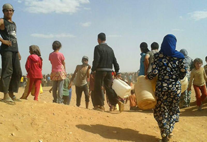 Турция начала работу по размещению беженцев на севере Сирии
