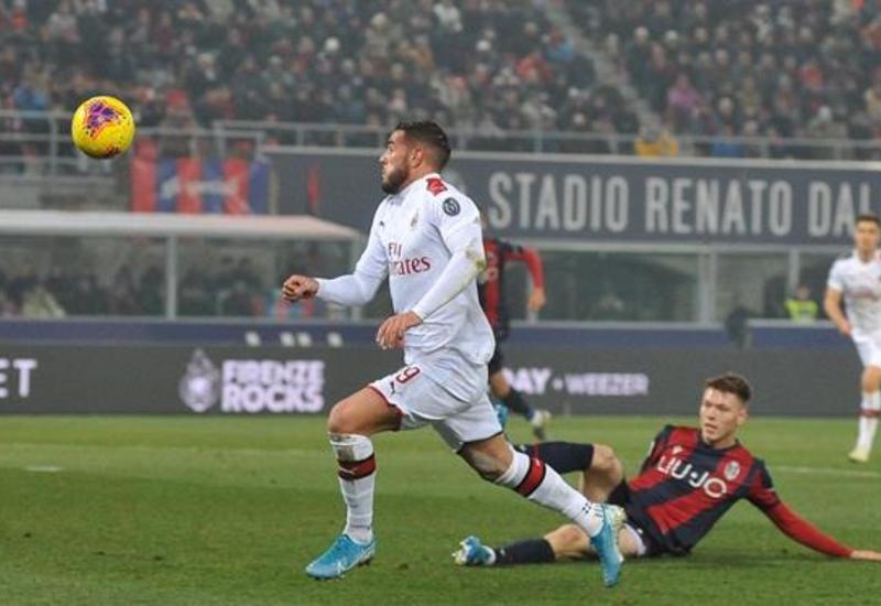 Милан удержал выездную победу над Болоньей