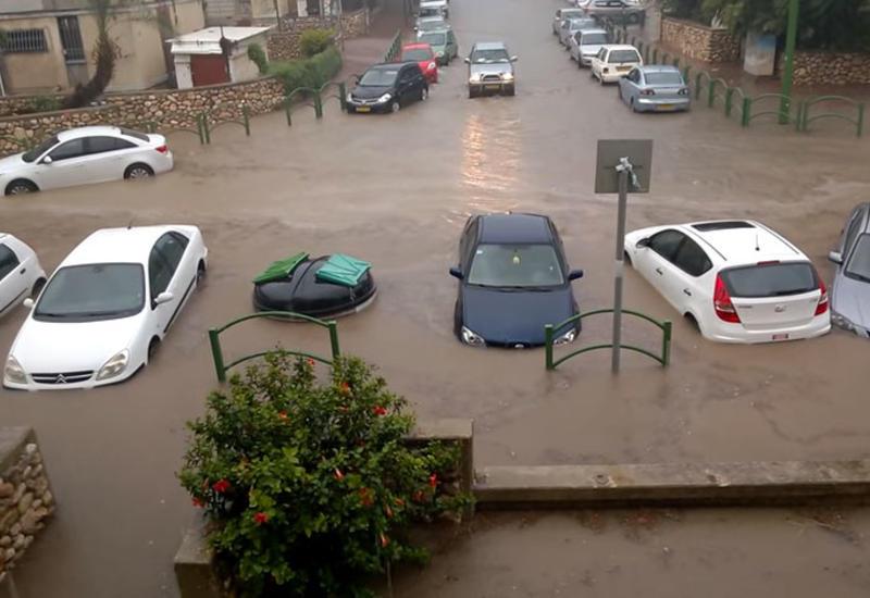 Север Израиля уходит под воду из-за дождей