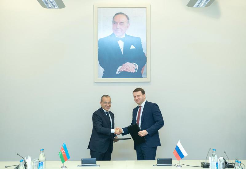 Азербайджан и Россия подписали протокол о намерениях