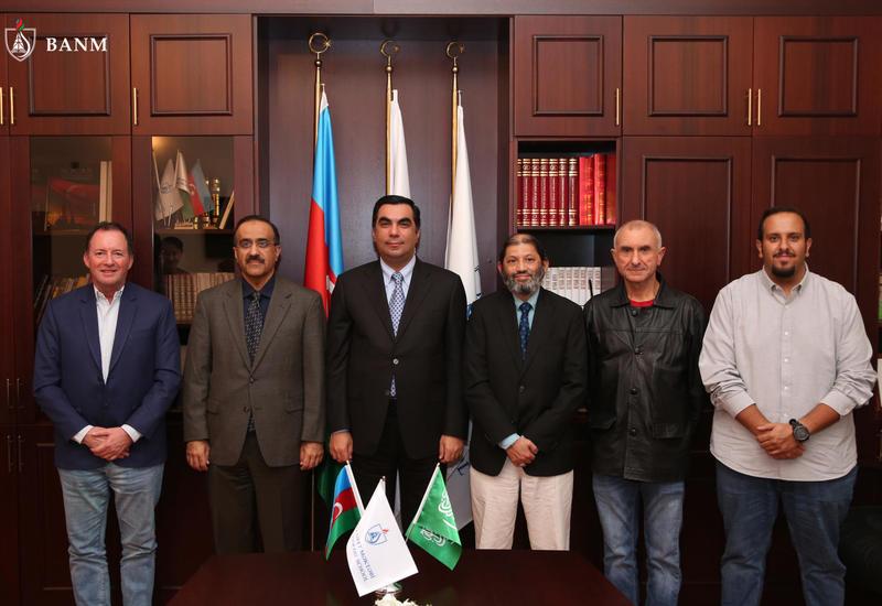 В БВШН прошла встреча с представителями Университета нефти и полезных ископаемых Саудовской Аравии
