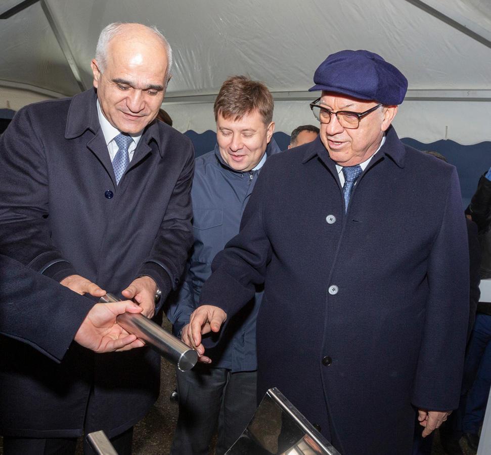 В Азербайджане состоялась закладка фундамента Сервисного центра по капитальному ремонту и обслуживанию вертолетов