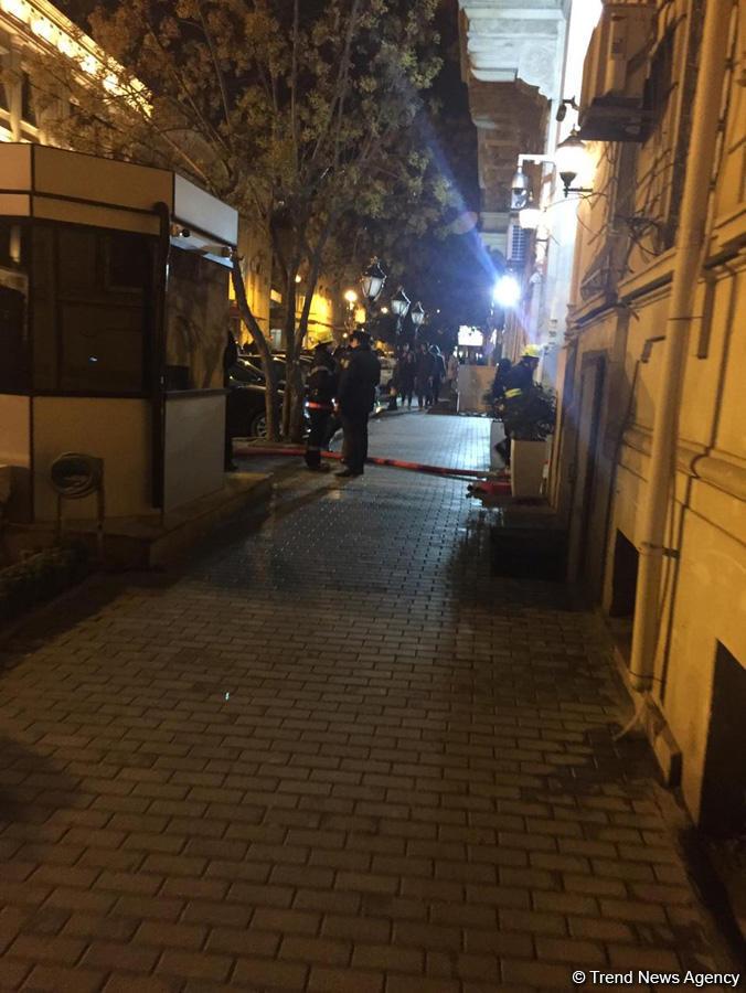 В посольстве Ирана в Азербайджане произошло задымление