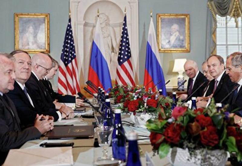 В Вашингтоне проходит встреча Лаврова и Помпео