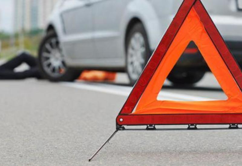 Необычная авария в Баку