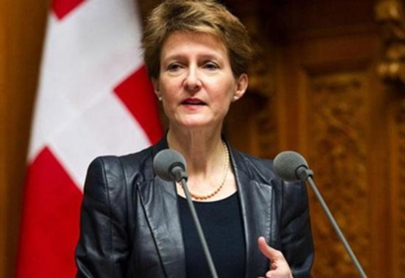Избран новый президент Швейцарии