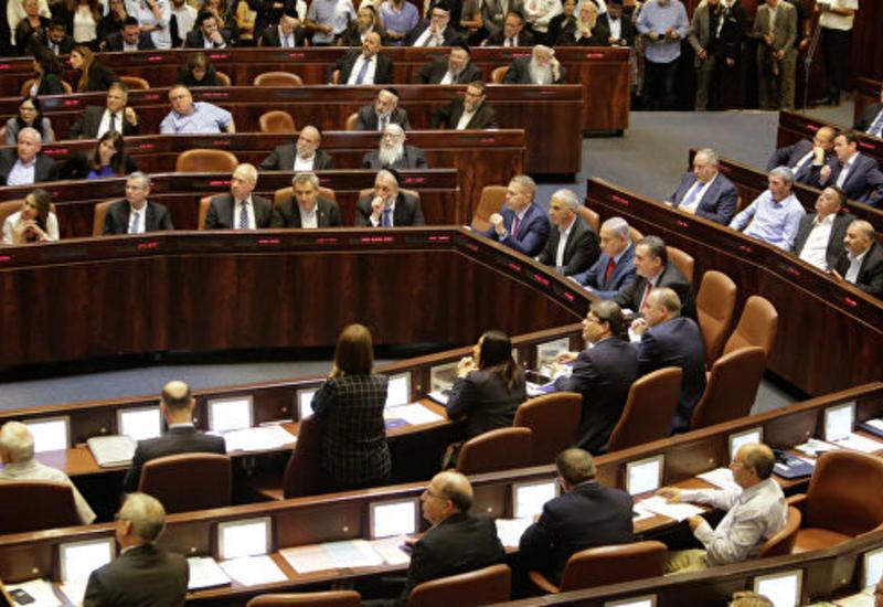 Парламент Израиля одобрил закон о самороспуске
