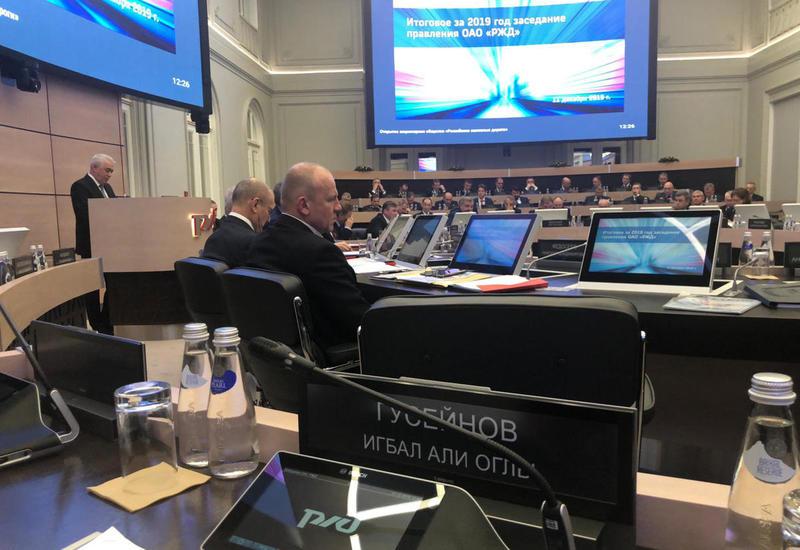 Россия и Азербайджан увеличили объем грузоперевозок