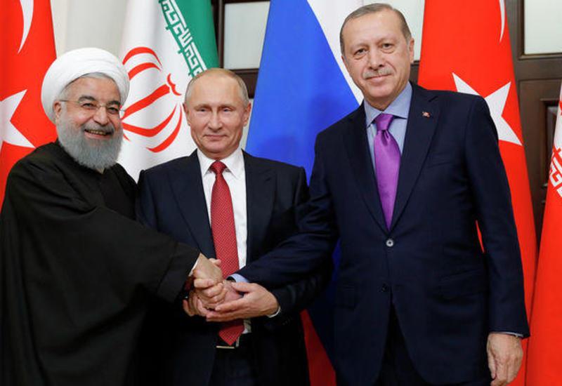 Представители России, Ирана и Турции проводят консультации по Сирии