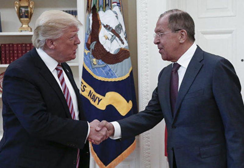 Трамп встретился с Лавровым