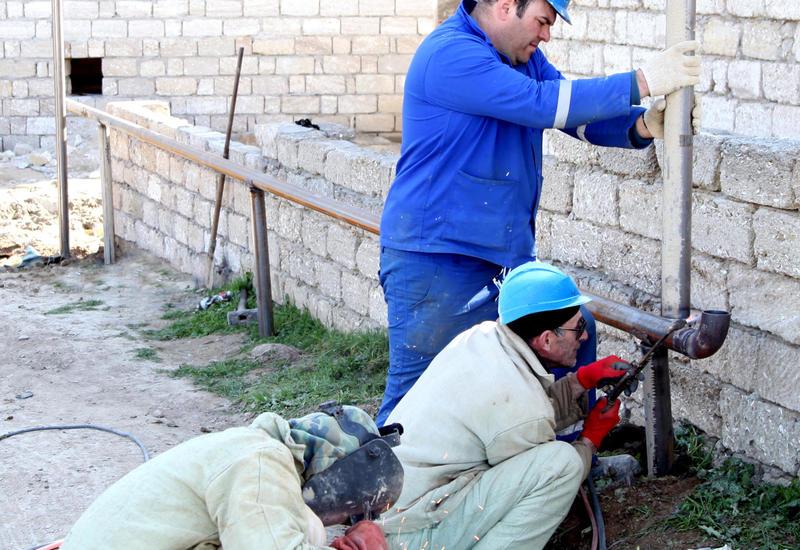 В Баку газифицирован еще один жилой массив