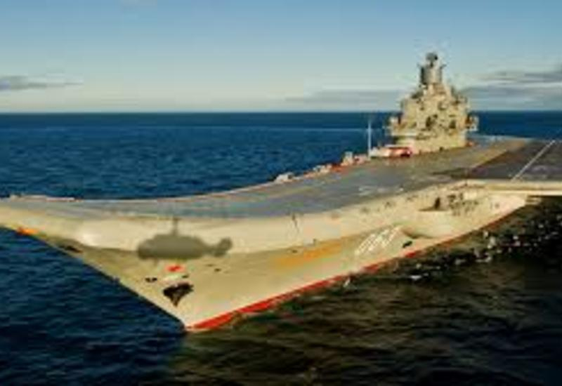 В России загорелся крейсер
