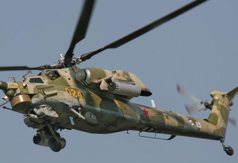 На Кубани разбился вертолет Ми-28Н, есть жертвы
