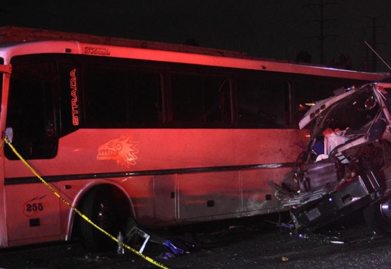 В Мексике попал в ДТП автобус с паломниками: есть жертвы