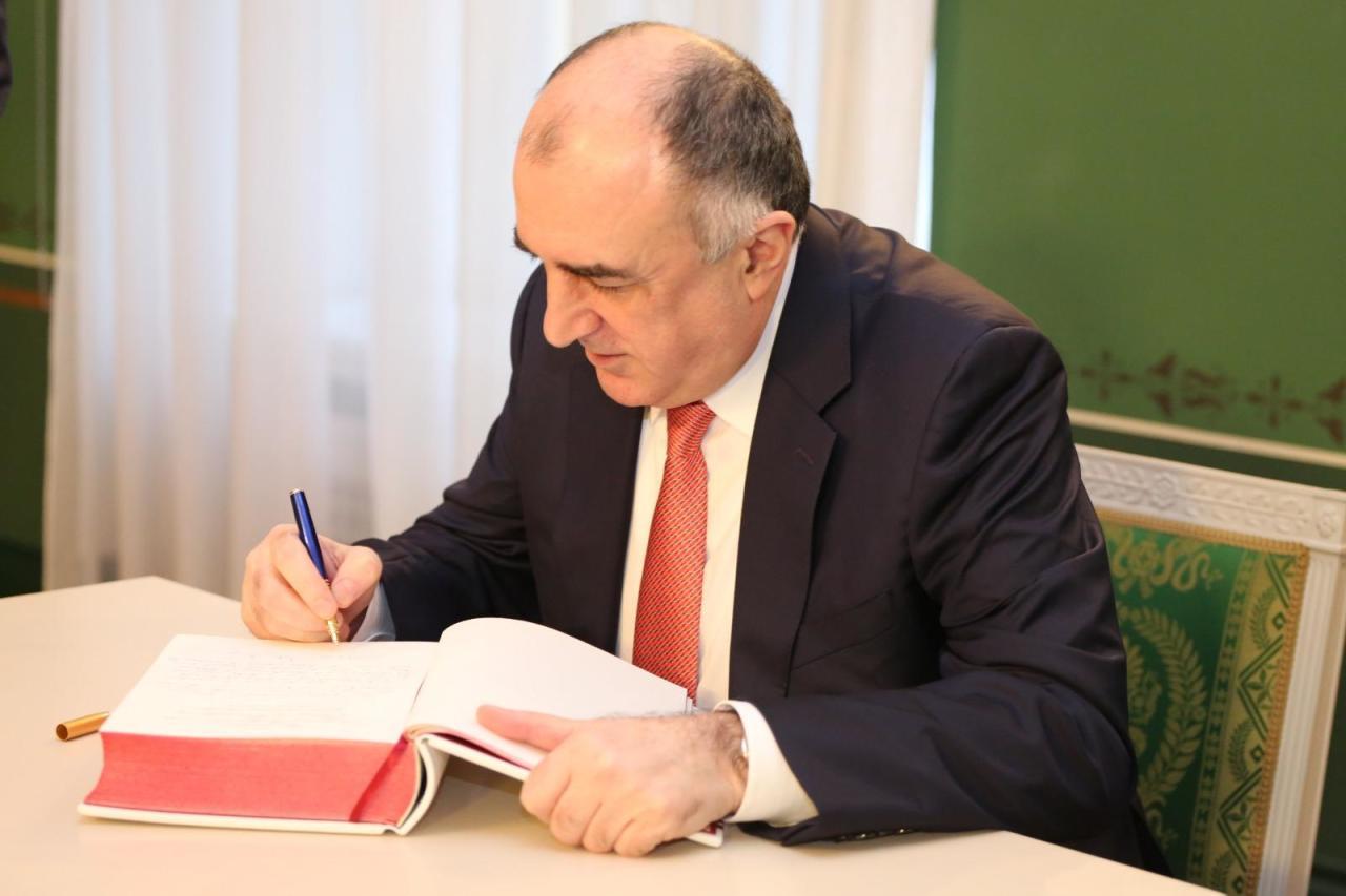 Эльмар Мамедъяров встретился с президентом Латвии