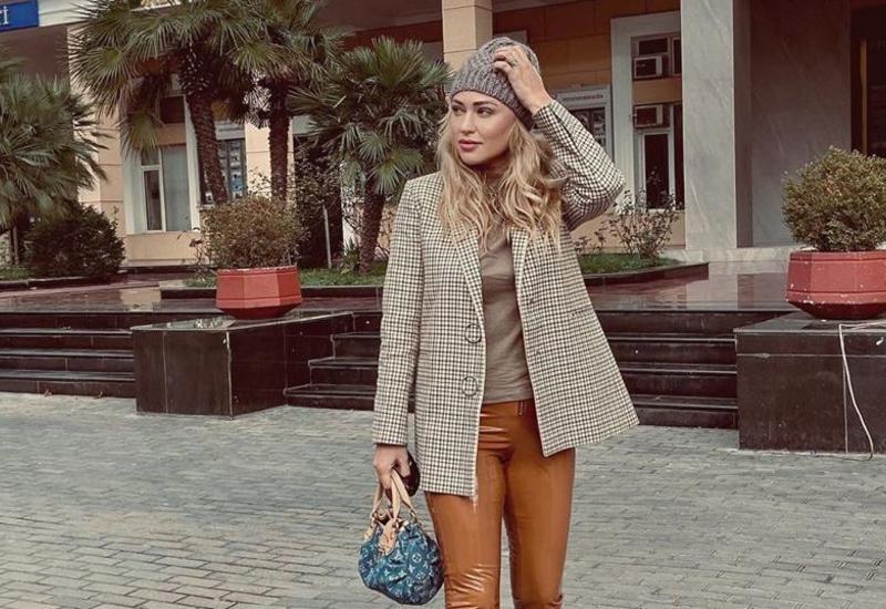 Одеваемся по погоде - Модный образ Айнур Гузель
