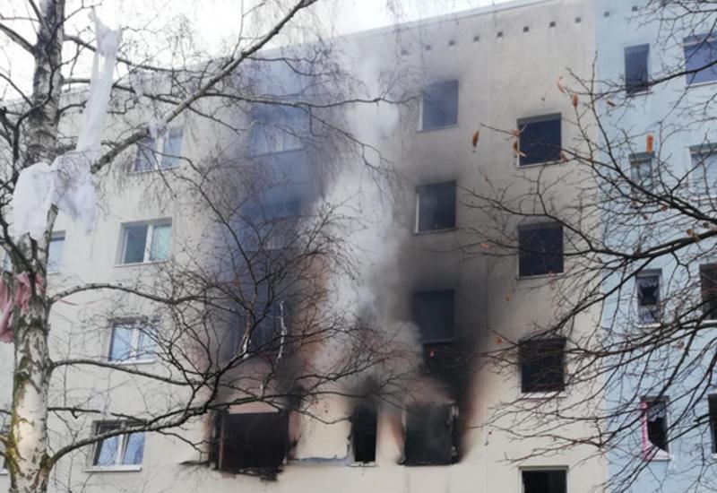 В Германии прогремел взрыв в жилом доме